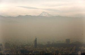 تهران دود گرفته